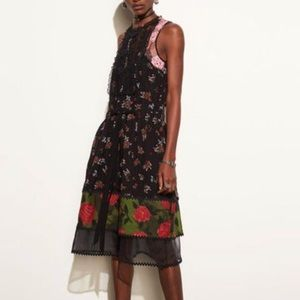 Coach Dresses - Coach Bib Tiered Dress